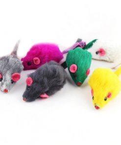 Fur Mouse Toy 10 pcs Set