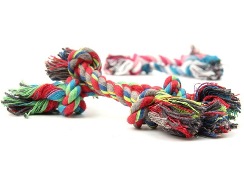 Puppy Cotton Chewing Rope Knot | Dog Toys | Paws Land