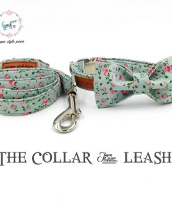 Pretty Rose Floral Dog Collar