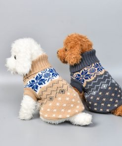 Knitted Sweater For Small Medium Dogs