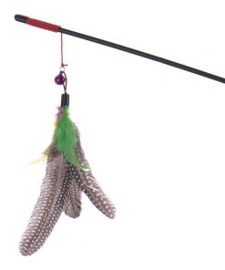 Feather Teaser Wand Toy