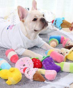 Chew Plush Squeak Toys for Puppy