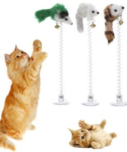 Elastic Funny Feather Toy for Cat