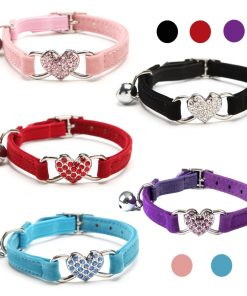 Cat's Collar with Bell and Heart