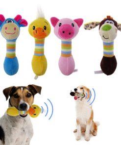 Cute Dog Squeak Toys