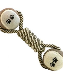 Rope Chewing Knot Bone Toy