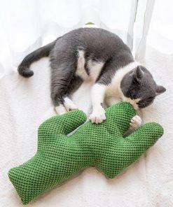Cactus Cat Toy with Catnip
